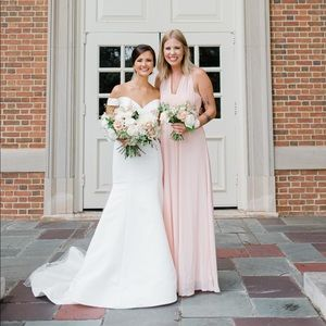 Blush Pink BirdieGrey convertible bridesmaid dress